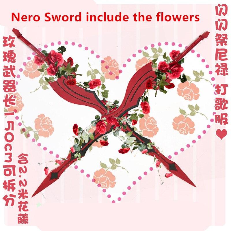 NERO FGO Sword cosplay prop Fate/Grand Order Idol Nero cosplay sword prop weapons 1