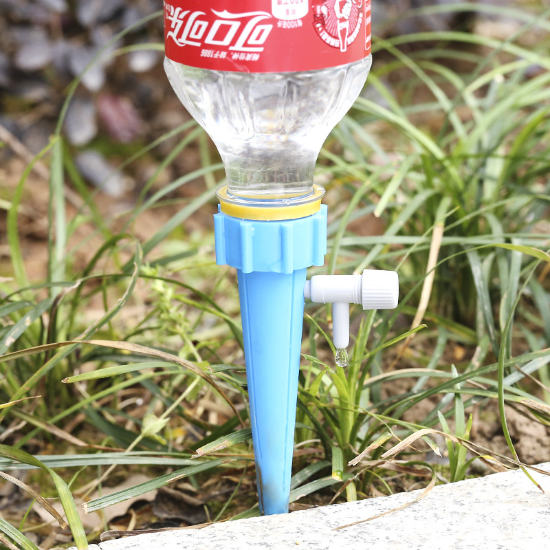 HTB1rqtgaRGE3KVjSZFhq6AkaFXaw Auto Drip Irrigation Watering System Automatic Watering Spike for Plants Flower Indoor Household Waterers Bottle dripping device