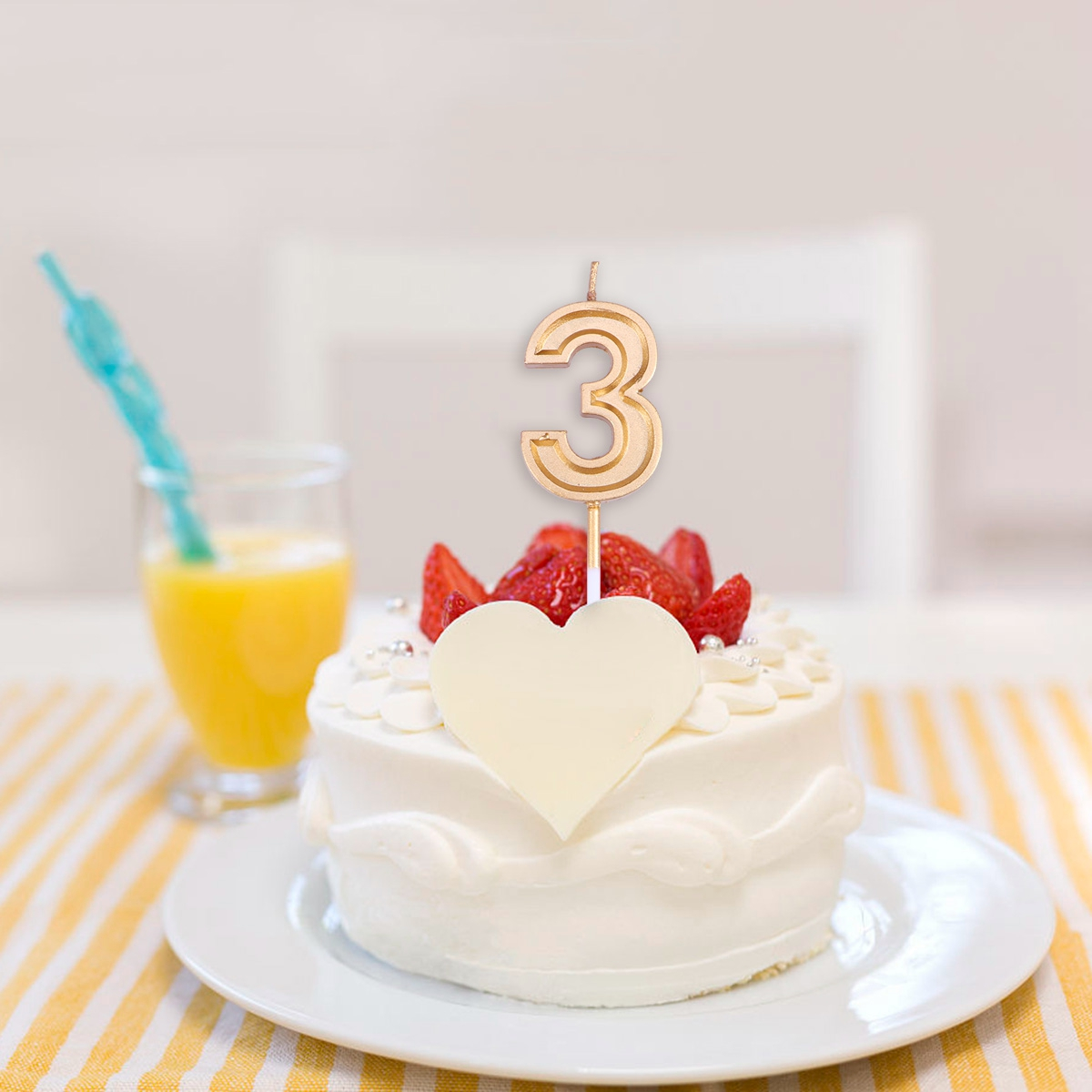 Prime 1Pc Number 0 9 Candle Glitter Happy Birthday Cake Topper Insert Birthday Cards Printable Giouspongecafe Filternl