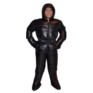 Image 3 - Plumón de ganso profesional 3000g relleno impermeable Antártico expedición invierno abajo traje chaqueta muy caliente