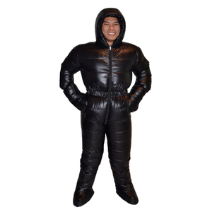 Image 3 - Professional Goose Down 3000g Filling Waterproof Antarctic Arctic Expedition Winter Down Suit Jacket Very Warm