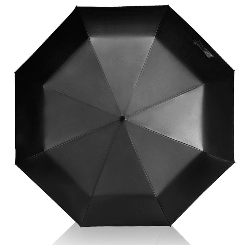 YADA Black Charm Folding designer Umbrella Rain Women uv High Quality Umbrella For Womens brand Windproof Custom Umbrellas YS124 in Umbrellas from Home Garden