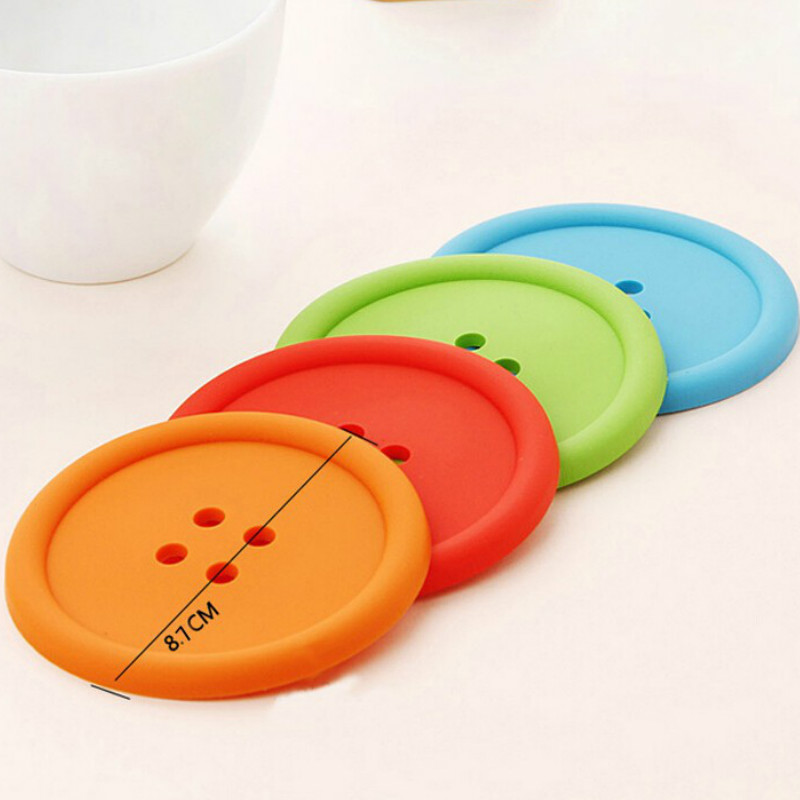 eTya-1PC-Colorful-Silicone-Coasters-Mats-Cute-Round-Button-Cup-Mat-Mug-Holder-Bar-Table-Decor