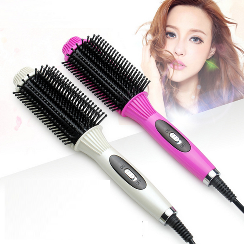 Professional Salon hair styling tools 2-in-1 hair straightener and Curler irons hair brush straightener comb electric brush hair 2pcs h11 led high power 7 5w car headlight fog lamps auto car led bulbs car light source parking 12v 6000k pure white