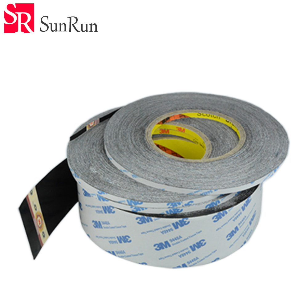 цена на 1-20mm x 50M 3M Black Double Sided Adhesive Tape for Touch Screen /Display /Housing /Case /Cable Sticky