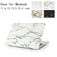 Marble Texture Cover For Apple Macbook Air Pro Retina 11 12 13 15 Notebook Bag Pouch