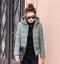 ZOGAA Winter Jacket Women Plus Size Women Parka Thicken Outerwear Solid Hooded Coats Short Female Slim Cotton Padded Basic Tops semir winter jacket women plus size l womens parkas thicken outerwear solid coats short female slim cotton padded basic tops