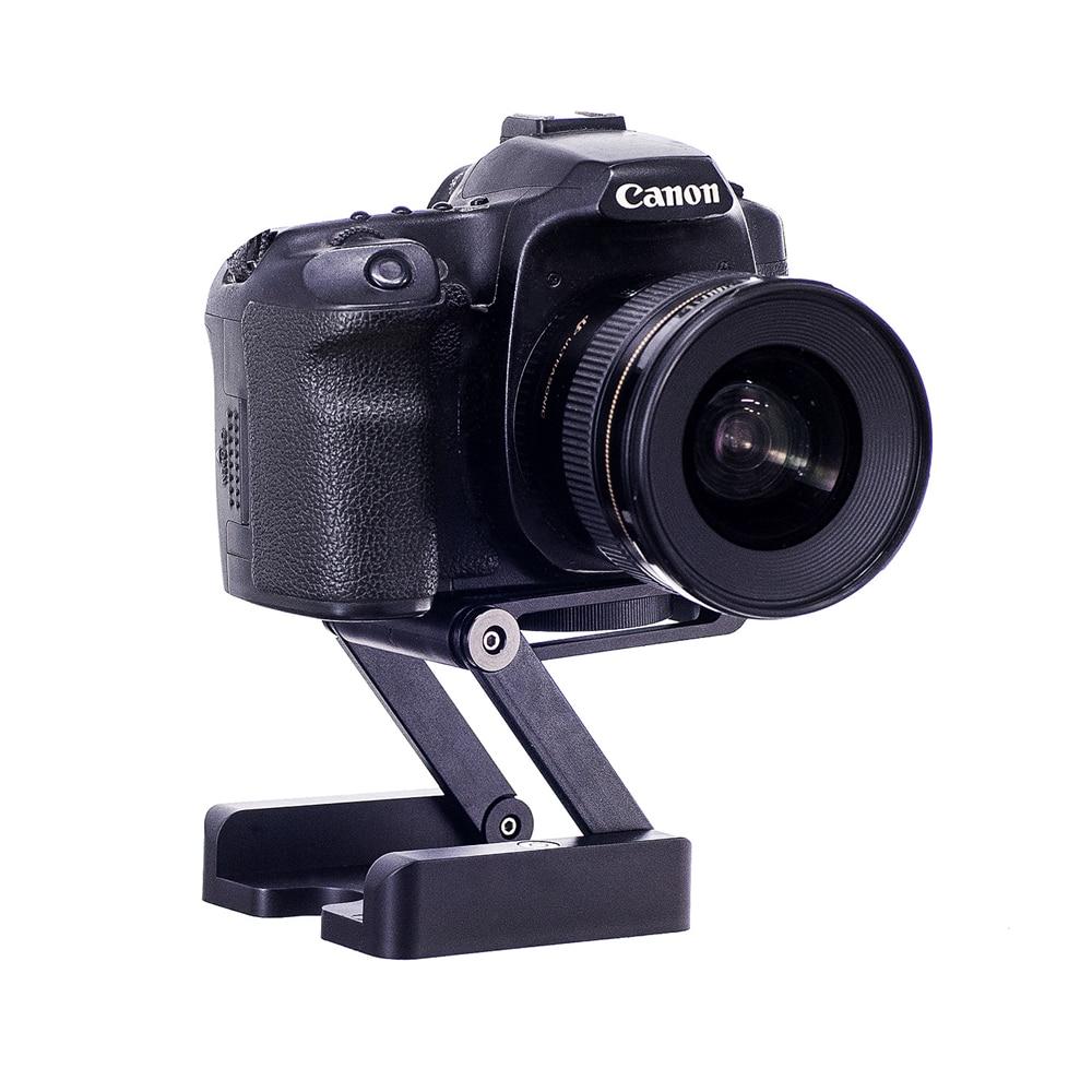 GAQOU Camera Flex Tripod Z Pan Tilt Ballhead Folding Desktop Tripod BRACKET  Head Solution Photography Studio Cameras Camcorder