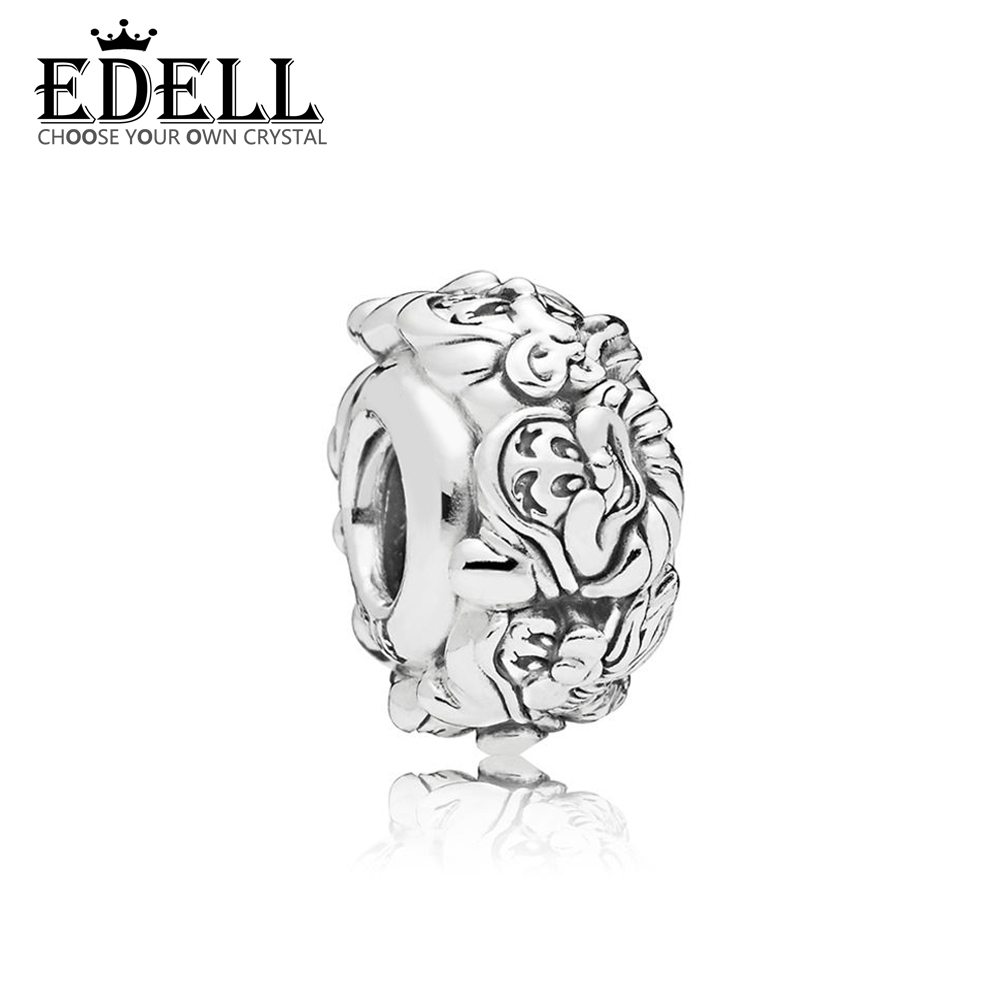 EDELL 100% 925 Sterling Silver New Vitality Distinguished Simple 797491 Fairy Charm CLIP Original Jewelry Women Holiday GiftEDELL 100% 925 Sterling Silver New Vitality Distinguished Simple 797491 Fairy Charm CLIP Original Jewelry Women Holiday Gift