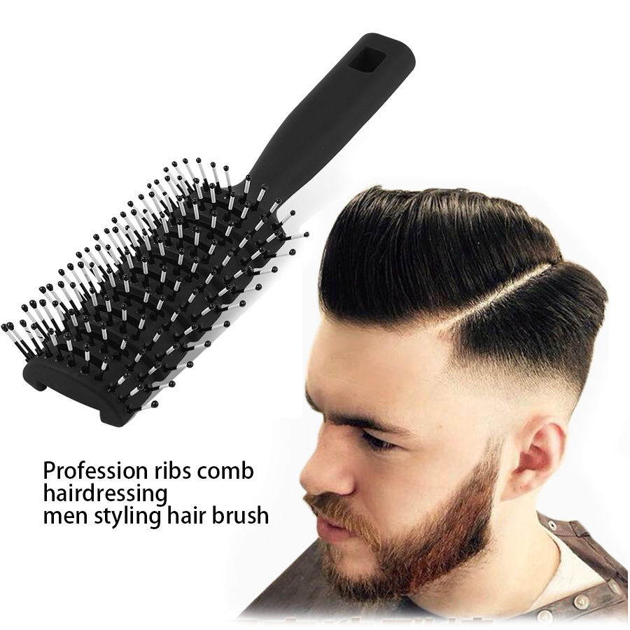 hair style brush profession ribs comb hairdressing styling 3494