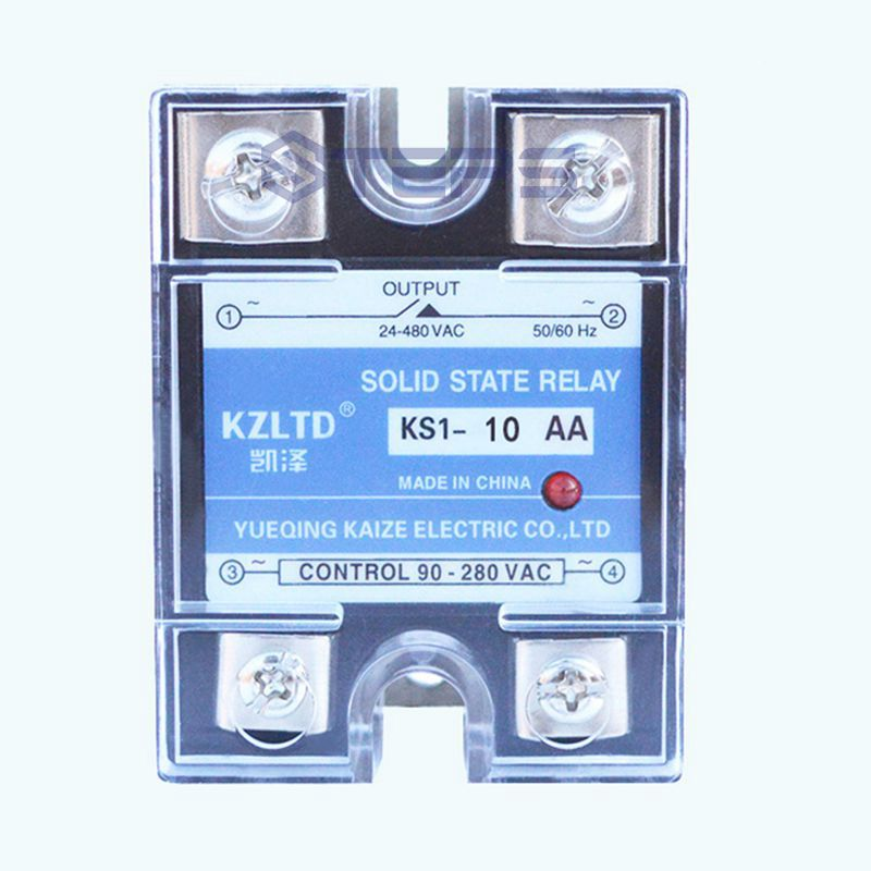 где купить Solid-state non-contact relay AC control AC motor water pump switch control 10A 220V дешево