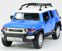 Gift For Boy 1 32 15cm Cool Toyota FJ CRUISER Vehicle Car Alloy Model Acousto Optic