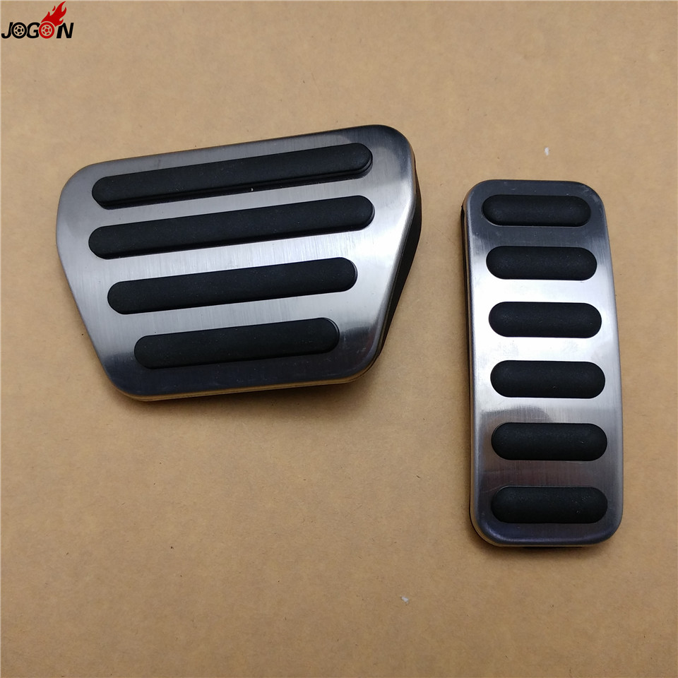 Gas Fuel Brake Foot Pedal Pad Cover Trim AT For Land Rover Range Rover Sport 2014 2015 2016