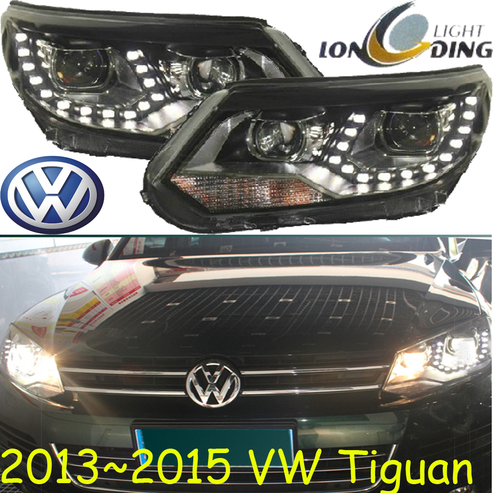 Tiguan headlight,2013~2015,Free ship!Tiguan fog light,passat,magotan,jetta,polo;Touareg,Tiguan tiguan taillight 2017 2018year led free ship ouareg sharan golf7 routan saveiro polo passat magotan jetta vento tiguan rear lamp