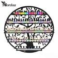 Mordoa Limited Eco-friendly Shelf Storage High Quality Art Nail Polish Rack 60*60CM Circular Wall Shop Racks Jewelry Display