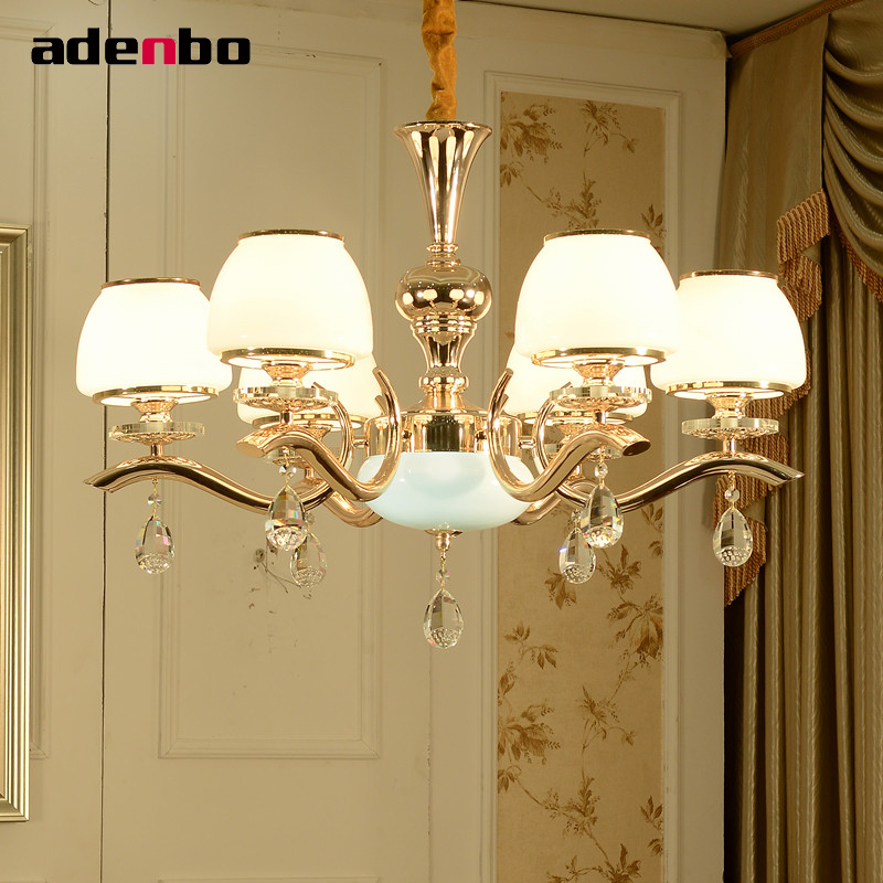 Modern LED Chandelier Lighting Fixture Crystal Chandeliers Gold LED Lustre Lamp Luxury Indoor Lights For Living Room Bedroom modern crystal led chandelier gold luxury lustre e14 8 bulbs included crystal ball fixture for restaurant living room lamp