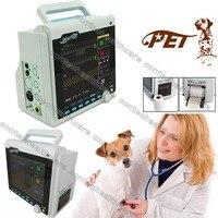 Vet ICU Patient Monitor ECG NIBP PR Spo2 Temp Multi Parameter,Printer,Veterinary