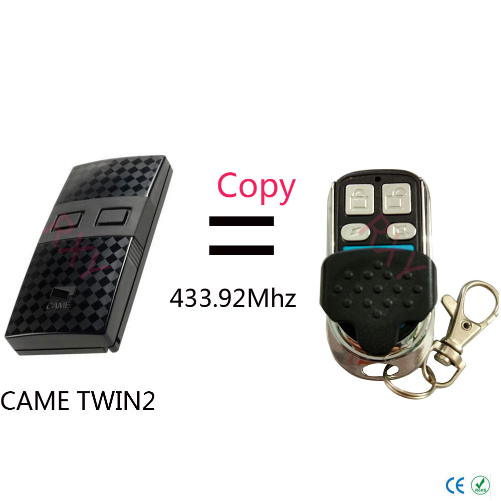 Top qualität KAM TWIN2 (TW2EE) fernbedienung kopieren klon 433,92 mhz