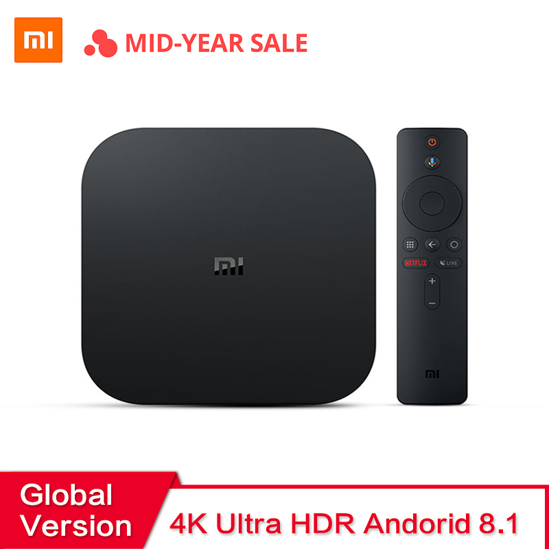 International Xiaomi Mi Box S 4 Android 8 1 4K HD QuadCore Smart TV Box 2GB