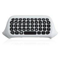 47 مفاتيح 2.4 جرام usb mini اللاسلكية chatpad رسالة keyboard keypad مفاتيح ل xbox one تحكم لاسلكي أسود/الأبيض