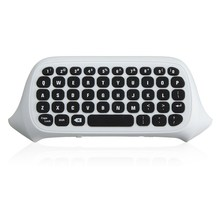 47 Keys 2.4G USB Mini Wireless Chatpad Message Keyboard Keypad for XBOX ONE Game Controller Wireless Keyboard Black/White