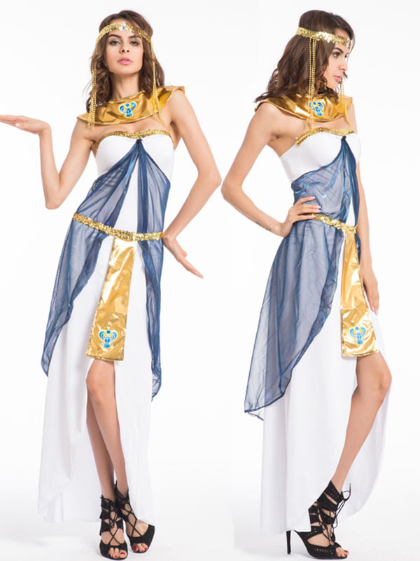 Free Pp Roman Women Costume Halloween Princess Dress Queen Cosplay