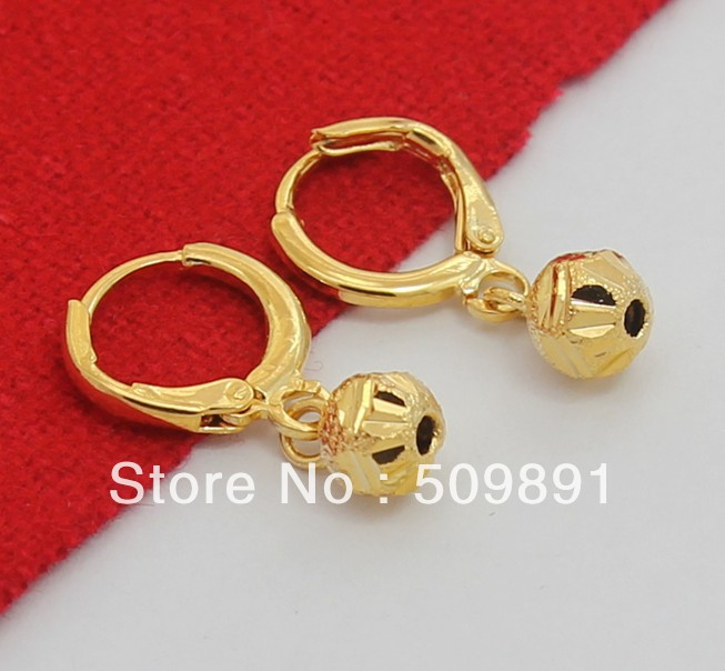 24 carat gold earrings buy wholesale 24 carat gold earrings from china 24 9845