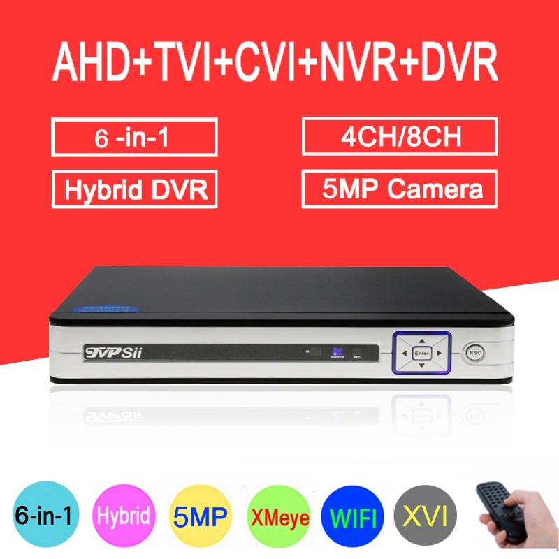 5MP Surveillance Camera Silver Panel Hi3531D  8CH/4CH WIFI 6 in 1 Hybrid Coaxial XVI TVI CVI NVR AHD CCTV DVR Free Shipping5MP Surveillance Camera Silver Panel Hi3531D  8CH/4CH WIFI 6 in 1 Hybrid Coaxial XVI TVI CVI NVR AHD CCTV DVR Free Shipping