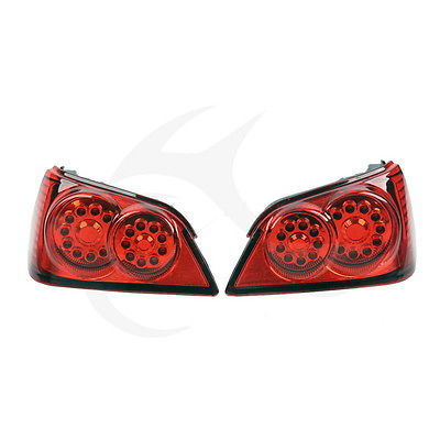 A Pair Red LED Brake Turn Signal Trunk Tail Light For Honda GL1800 2006-2011 10 motorcycle trunk tail light brake turn signals with led case for honda goldwing gl1800 2006 2011