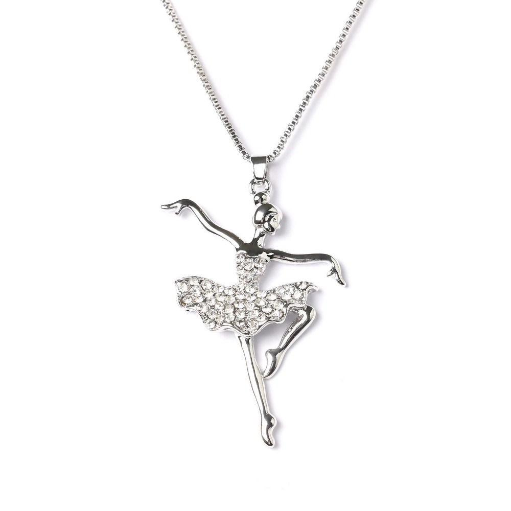 Little Girls Silver Plated NECKLACE Childrens Silver Asymmetric Heart Gift