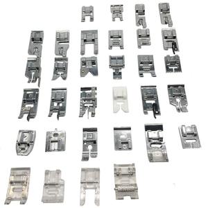 Image 5 - 32/42/48/52 sztuk szycia knitting crochet domowe maszyny ścieg kryty cerowanie stopka dociskowa zestaw stóp zestaw dla brata Singer Janom
