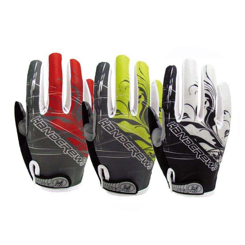 Prix pour 2016 Long Doigt Gant de Cyclisme Gel Vtt Vélo Gants pour Homme Femme VTT BMX DH Off Road Motocross antichoc gants