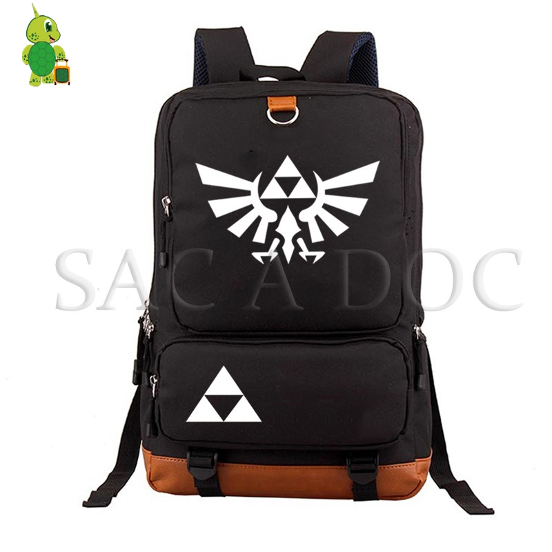 The Legend Of Zelda Link Daily Backpack Women Men Laptop Backpack Majora's Mask School Bags For Teenagers Large Travel Bags
