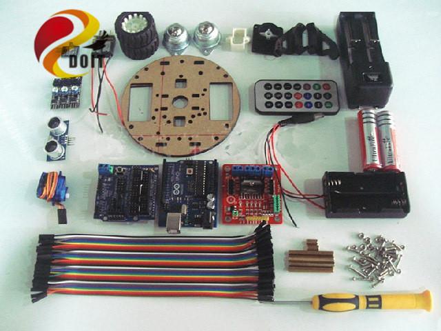 DOIT oficial Inteligente RC Car Suíte Aprendizagem Robô Tartaruga Starter Kit Diy Brinquedo Eletrônico Placa de Desenvolvimento de Controle Sem Fio