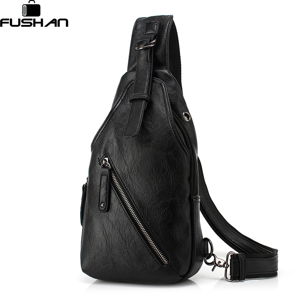 FUSHAN Men Messenger Bagss
