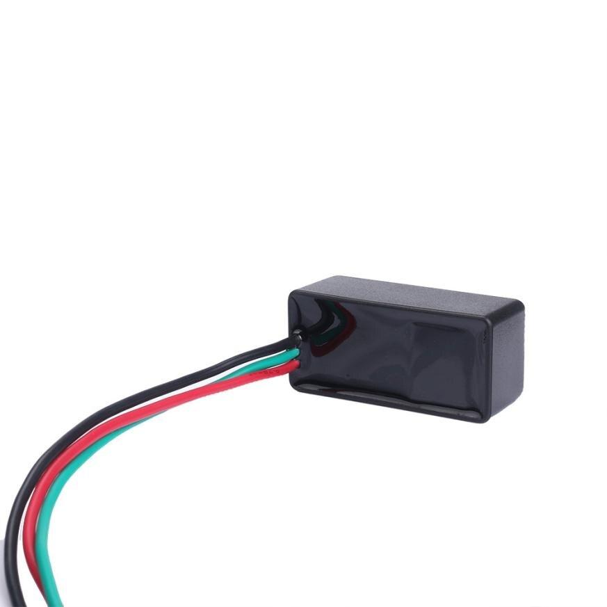 Universal Motorcycle Blinker Relay 3 Pin 12V LED Light Flasher car light source Shockproof waterproof jun16