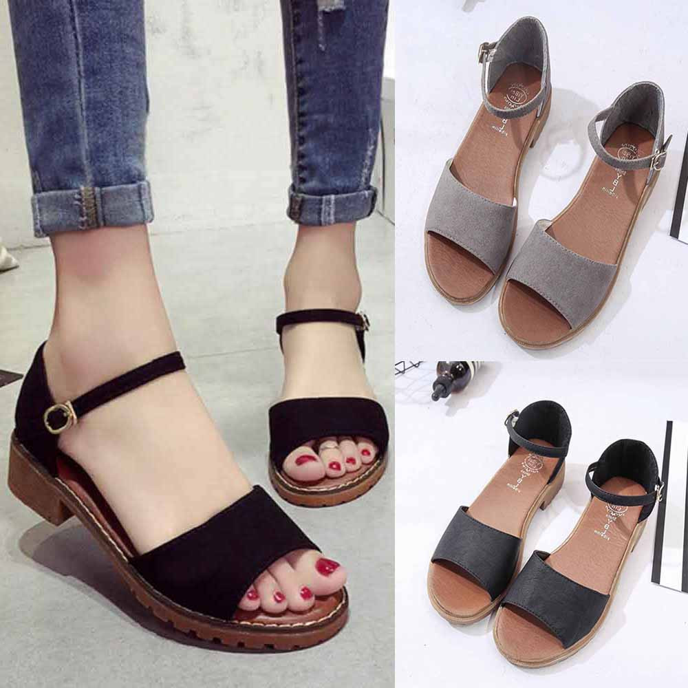 New Summer Women Sandals Sweet Flats Comfortable Beach Sandals Casual Summer Shoes Fashion PU Ladies Sandals7.887New Summer Women Sandals Sweet Flats Comfortable Beach Sandals Casual Summer Shoes Fashion PU Ladies Sandals7.887