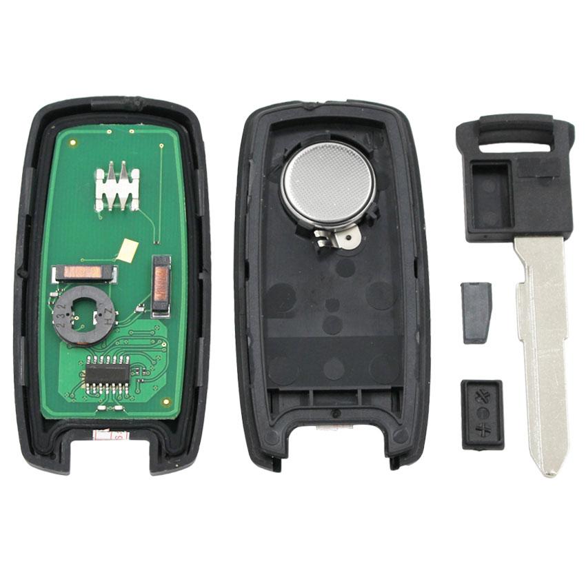 Image 5 - keyless entry Smart Card remote Key 2 BUTTONS 315MHZ WITH ID46  chip for Suzuki Swift SX4 Grand Vitara Uncut HU133 blade KBRTS003Car  Key