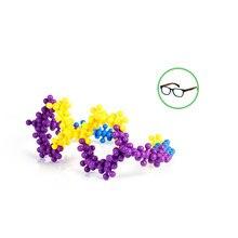 BOHS 120 PCS Click Connect Interlocking Solid Molecules Building Blocks Set STEM Educational Toy for Preschool Kids,Gift Packing