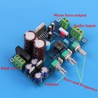 DIY KITHIFI Low Pass Filter Board / Subwoofer / Preamp NE5532 TDA7293 / 100W Mono Pitch Board Kit