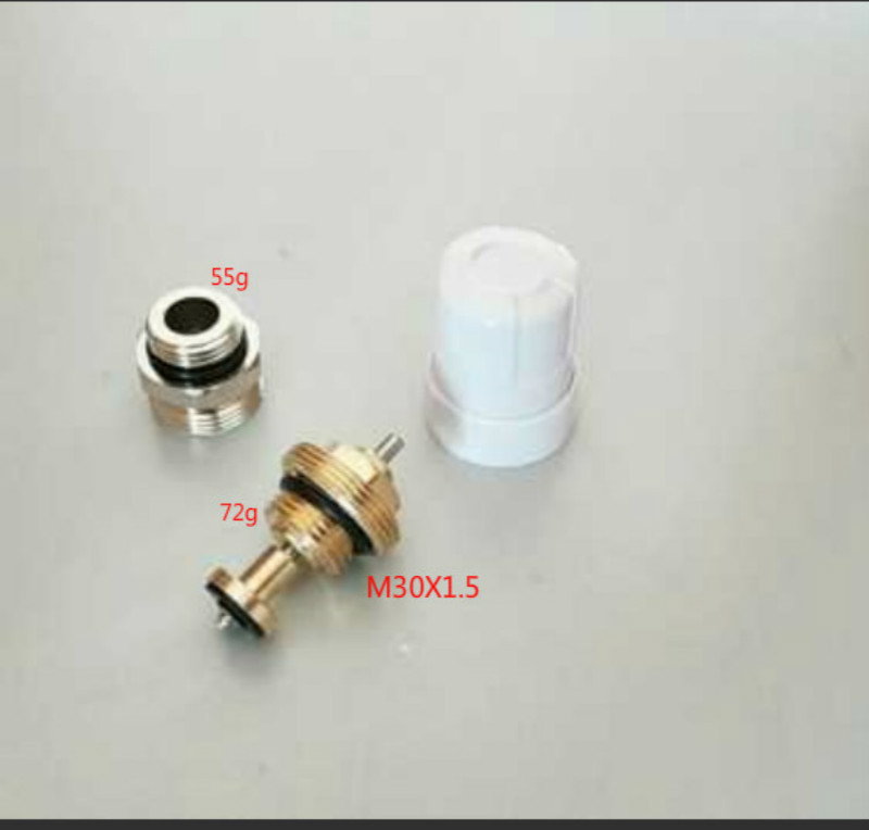 Valve Inserts Brass Floor Heating Manifold Valve Inserts M30x1.5