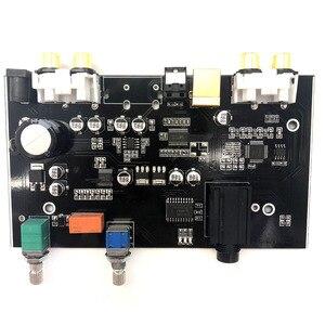Image 5 - PCM5100 MS8416 Optical USB input NE5532 OP DAC Board 24bit 192K with Audio Volume Control DAC Board DC 12V B9 007