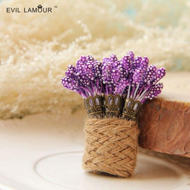 Victoriaanse paarse lavendel bloem broche pinnen sjaal pinnen groothandel kostuum sieraden china hennep broche sieraden