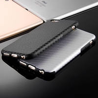 2016 New Durable Fiber Carbon Soft Case For Iphone 6 6S 4 7inch Silicone TPU Cover