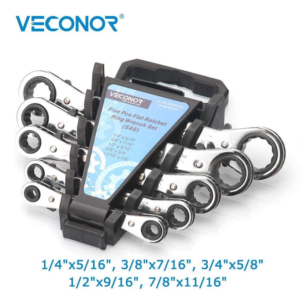 5 Pcs Datar Ratchet Ring Wrench Kunci Pas Set Imperial 2 Arah 1 Reversibel Steel Alat Di Dari Aliexpresscom Alibaba Group