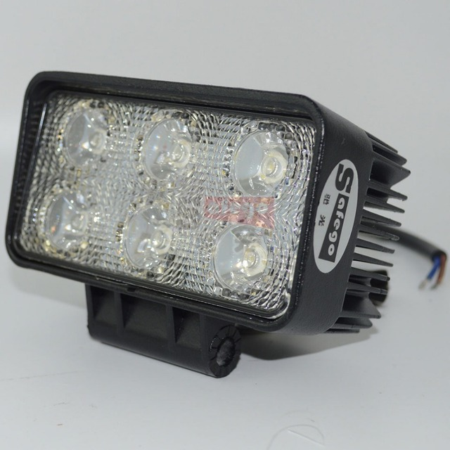 10pcs white offroad 12 volt led tractor truck work lights spotflood 10pcs white offroad 12 volt led tractor truck work lights spotflood 18w work light publicscrutiny Choice Image