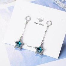 Роскошные синие и фиолетовые модные ювелирные изделия элегантные