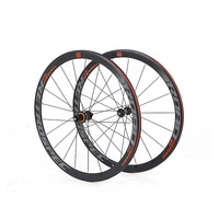 Rs2.0 aro da liga de alumínio selado rolamento da bicicleta de estrada 700c rodado anti cursor colorido 40mm roda de bicicleta conjunto rodas|Roda de bicicleta| |  -
