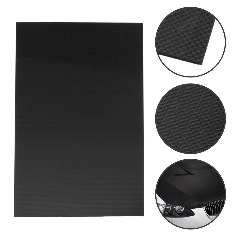 1 Pcs RC Parts 200mmX300mmX2mm 100% Carbon Fiber Plate Panel Sheet 3K Plain Weave Glossy Plate Corrosion Resistance size 200 200 5mm teflon plate resistance high temperature work in degree celsius between 200 to 260 ptfe sheet