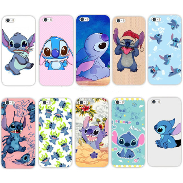 stitch phone case iphone 5s skin back cover for iphone 5 5s se lovely 7987
